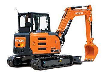 new HITACHI ZX 65USB-5A CLR  mini excavator