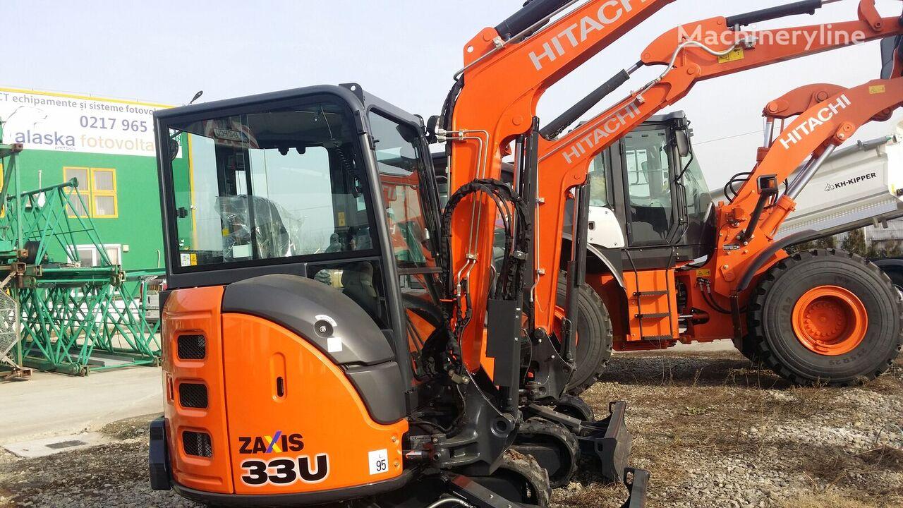 HITACHI ZX33U-5A mini excavator