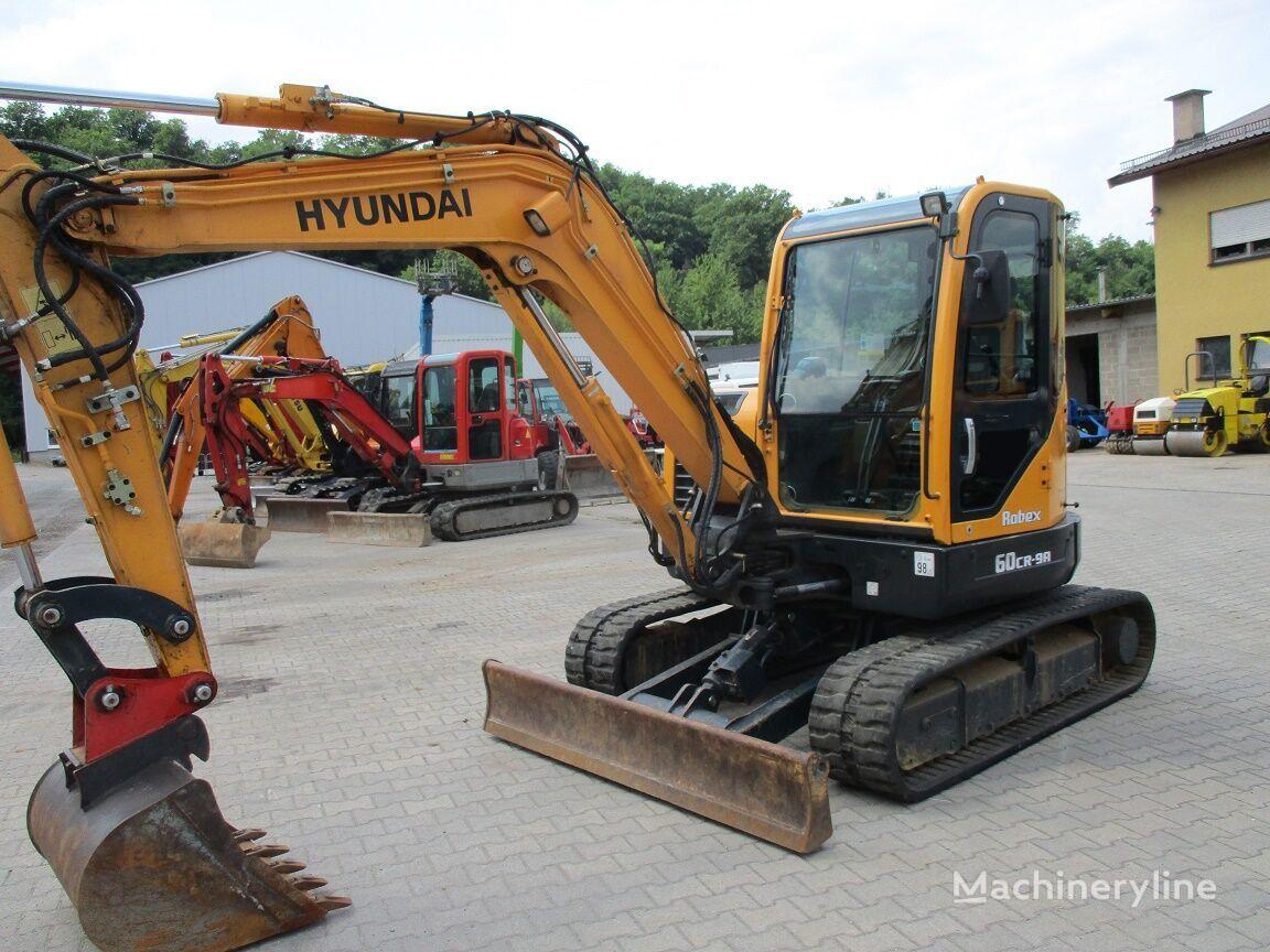 HYUNDAI R 60CR-9A  mini excavator