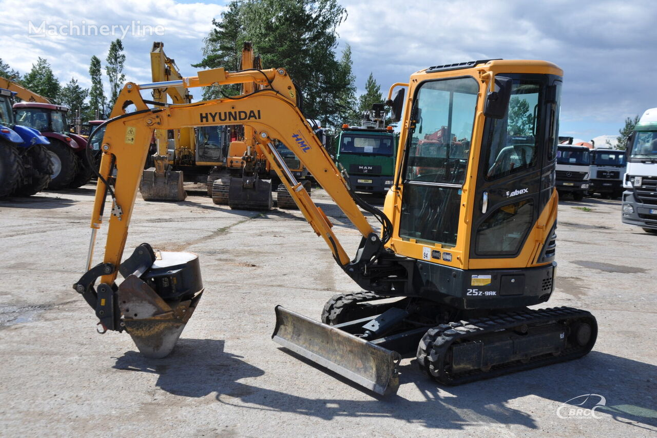HYUNDAI R25Z-9AK mini excavator