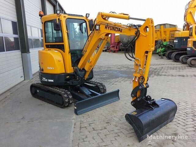 new HYUNDAI Robex 25Z-9AK mini excavator