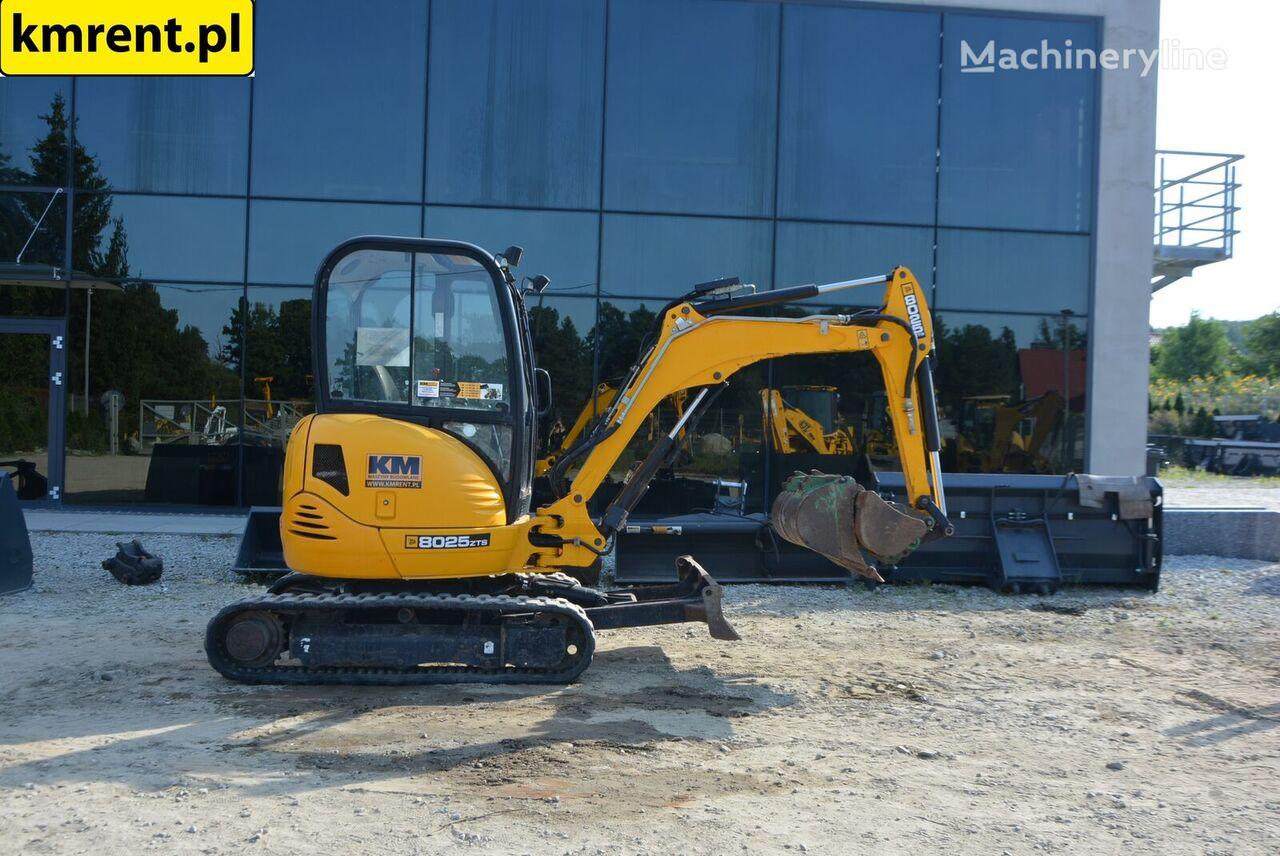 JCB 8025 | 8030 8035 8040 HITACHI ZX 17 27 22 CAT 302.5 301.8 301.6  mini excavator