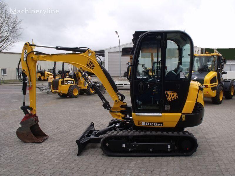 new JCB 8026 CTS mini excavator