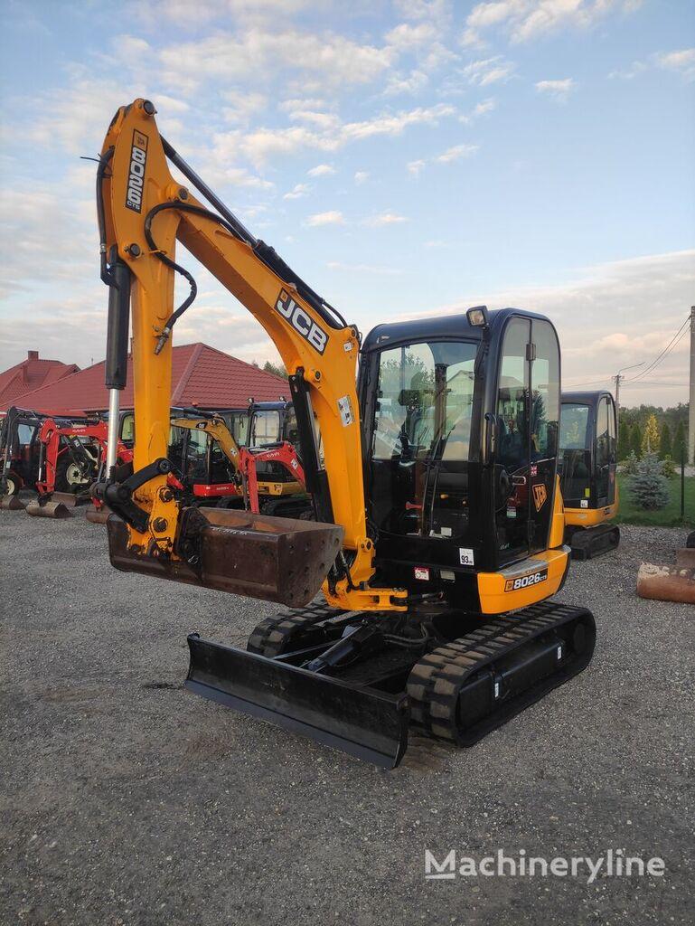 JCB 8026 CTS mini excavator