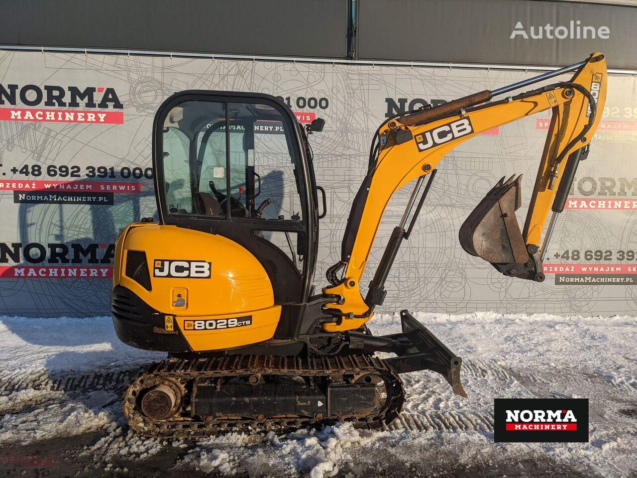 JCB 8029 mini excavator