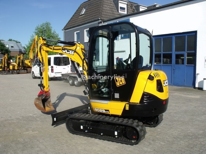 new JCB 8029 CTS mini excavator