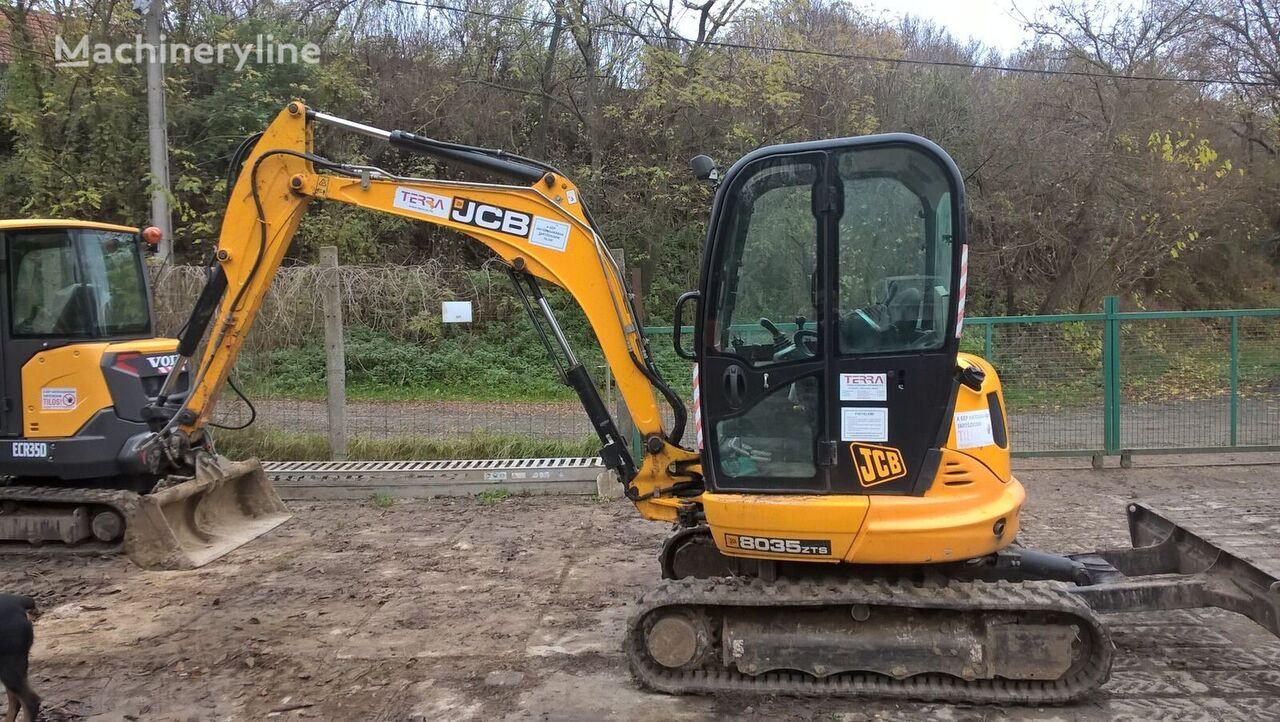 JCB 8035 mini excavator