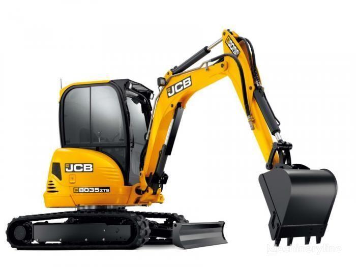 new JCB 8035 ZTS  mini excavator