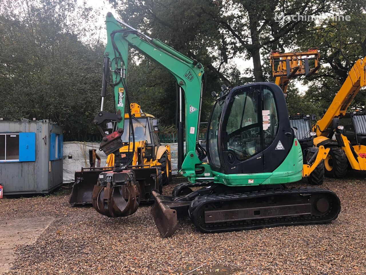 JCB 8080 mini excavator