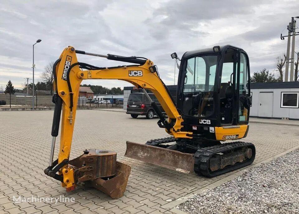 JCB CTS 8026 mini excavator
