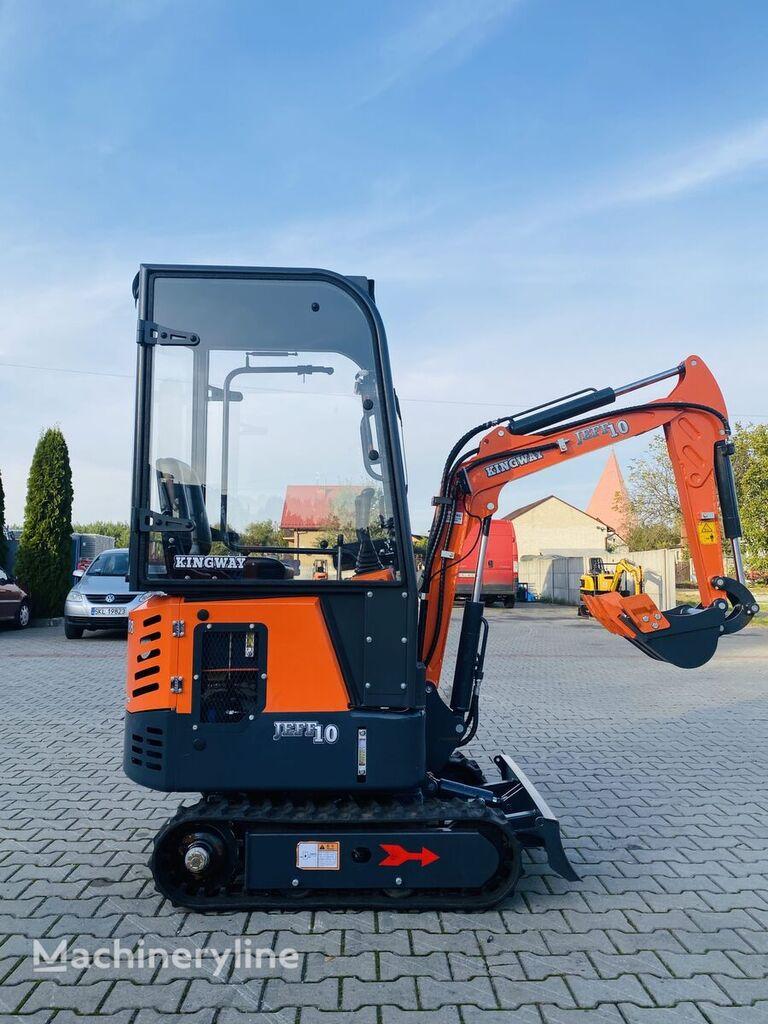 new KINGWAY  Mini Excavator  Jeff 10 K + bucket 300/500/800 mini excavator