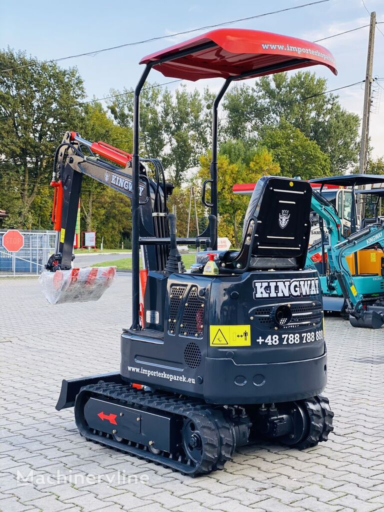new KINGWAY  Mini Excavator XN 10 +3 digging spoons 300/500/800 mini excavator