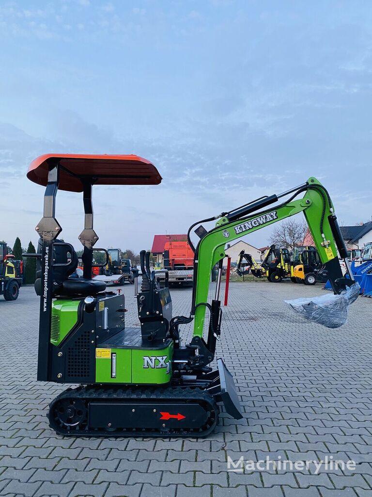 new KINGWAY NX 10 RS    Ramie Skrętne mini excavator