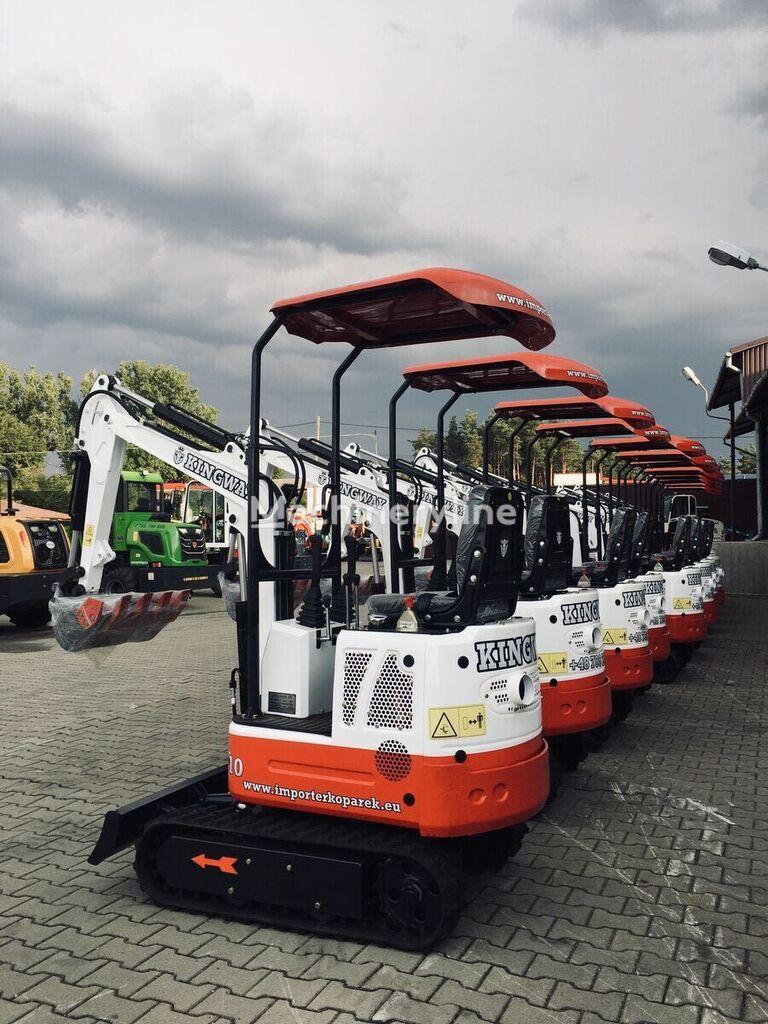 new KINGWAY XN10       1000kg + zestaw łyżek 300/500/800 mini excavator