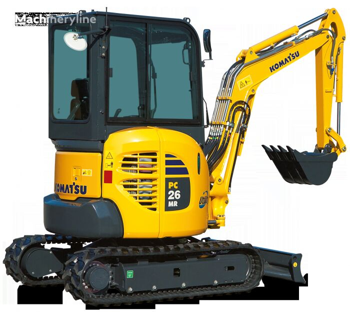 new KOMATSU PC 26MR-3 mini excavator
