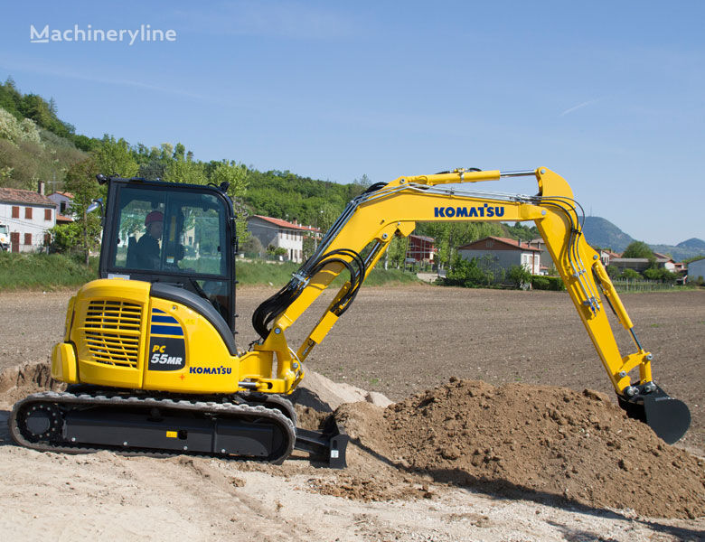 new KOMATSU PC 55MR-5 MO mini excavator