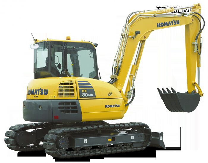 new KOMATSU PC 80 MR-3 mini excavator