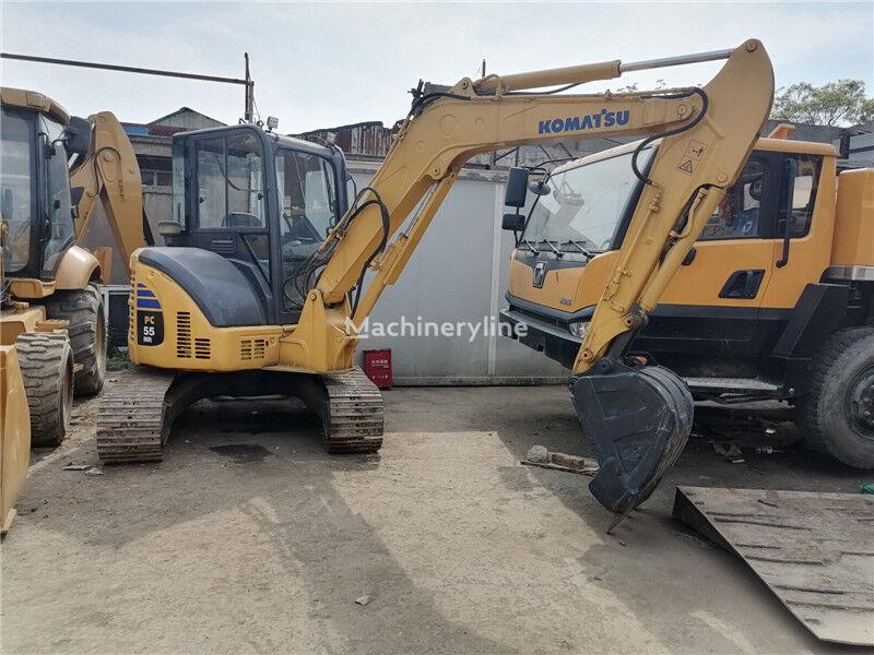 KOMATSU PC55 mini excavator