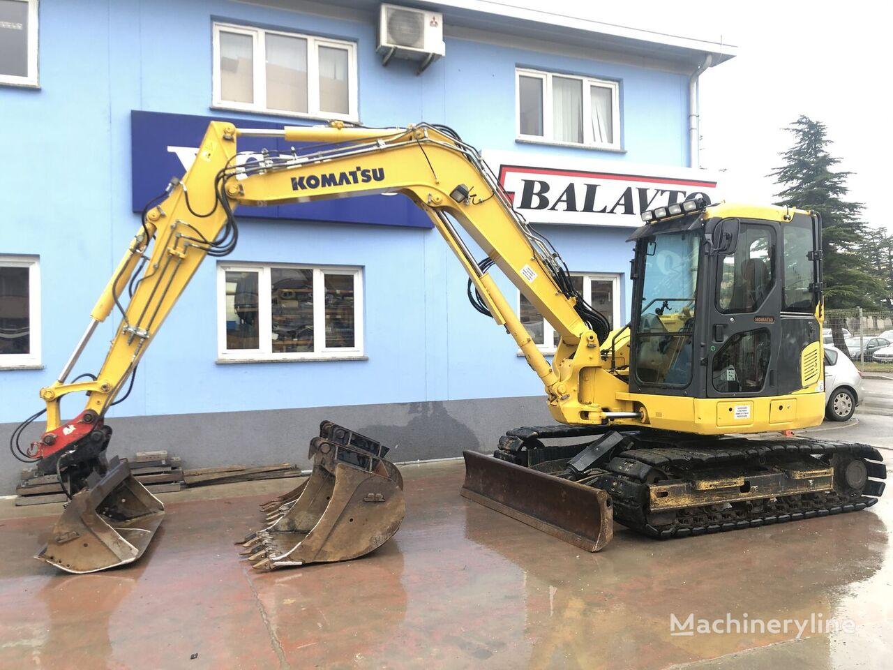 KOMATSU PC88MR mini excavator