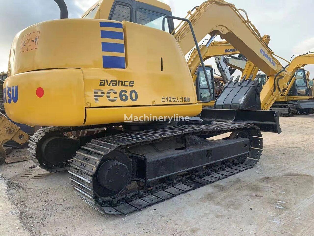 KOMATSU pc60-7 mini excavator