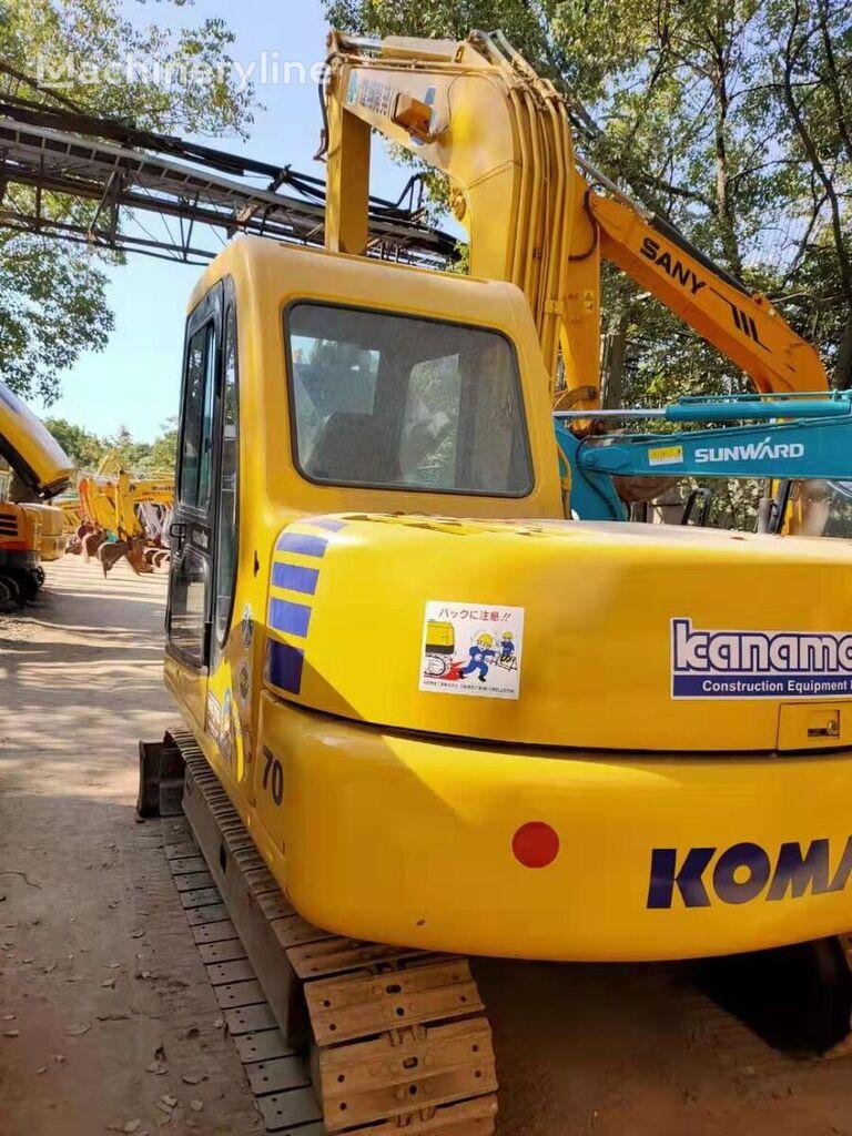 KOMATSU pc70 mini excavator
