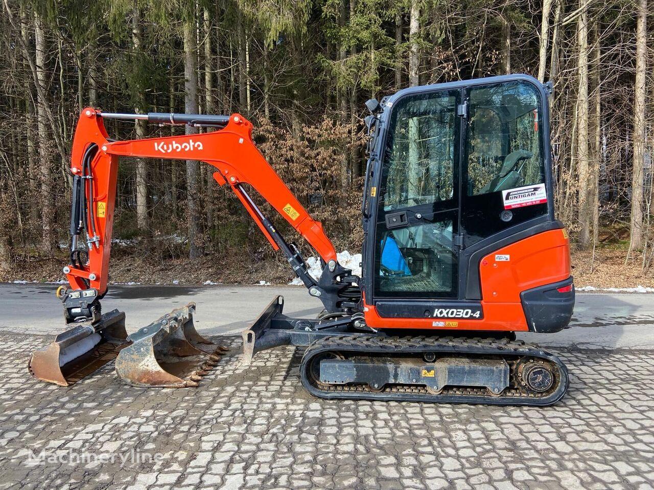 KUBOTA KX 030-4 mini excavator