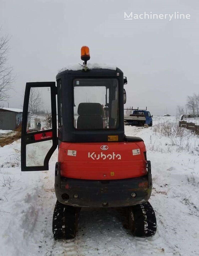 KUBOTA KX61-3 mini excavator