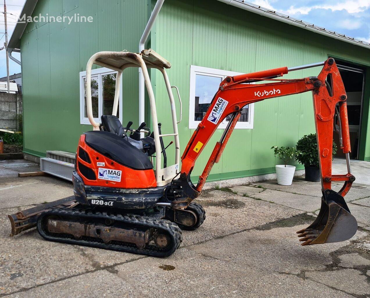 KUBOTA U20 mini excavator