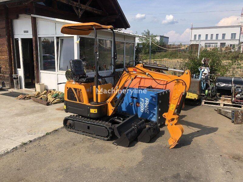 new SICOM SICO WE08 mini excavator