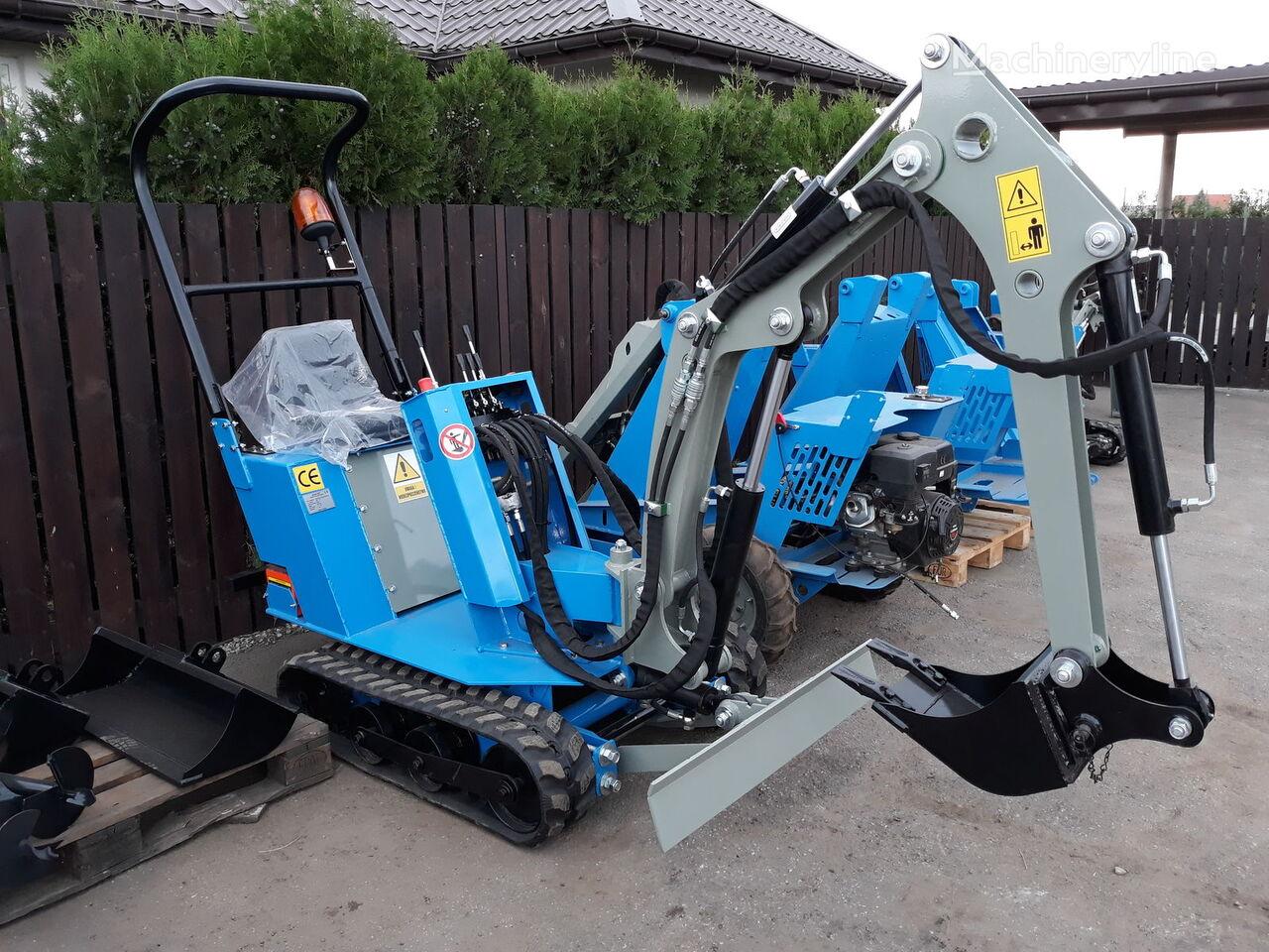 new SM BAUMASCHINEN mini excavator