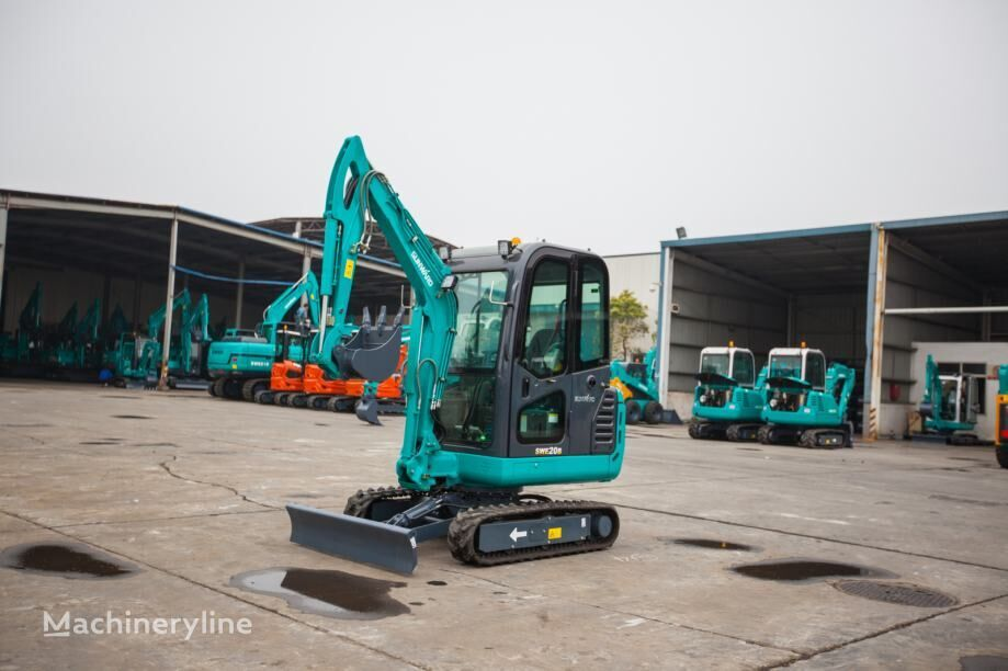 new SUNWARD 20 F mini excavator
