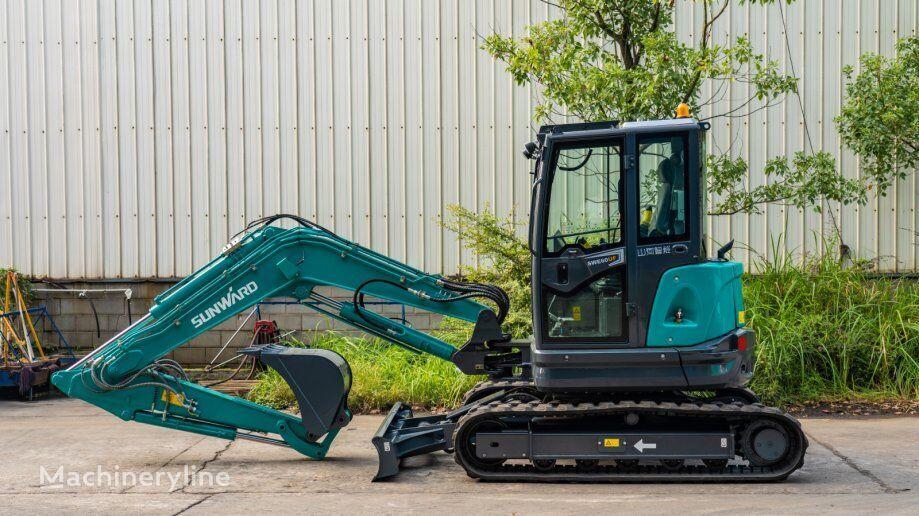 new SUNWARD 60UF mini excavator