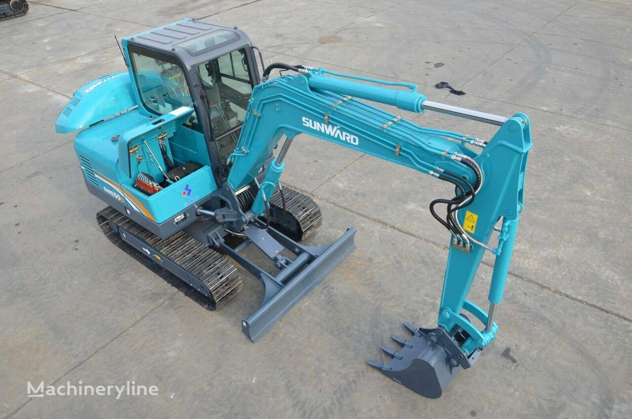 new SUNWARD SWE 60B mini excavator