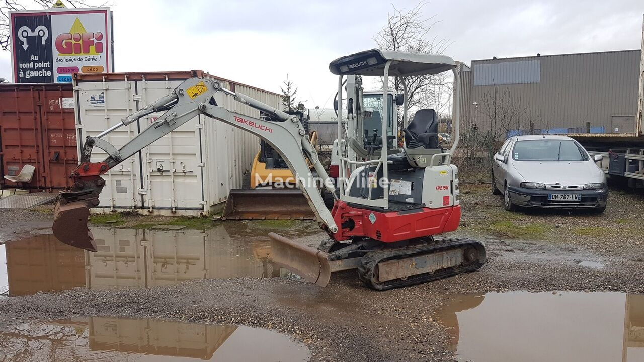 TAKEUCHI TB125 mini excavator