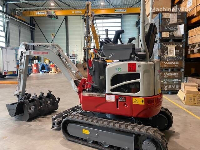 new TAKEUCHI TB210R mini excavator