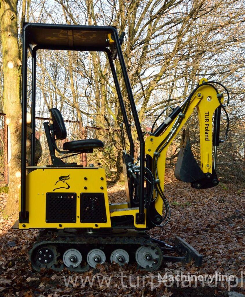 new TUR Poland OBROTOWA V 360 Minibagger Mini excavator  mini excavator