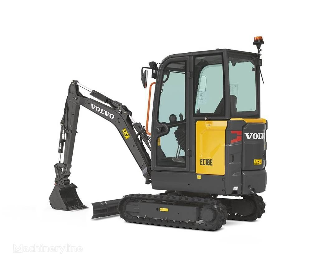 new VOLVO EC 18 E MIETE RENTAL mini excavator