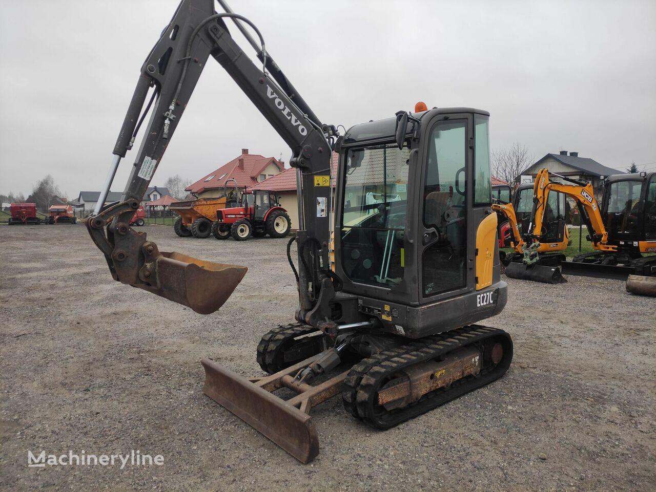 VOLVO EC 27 C mini excavator