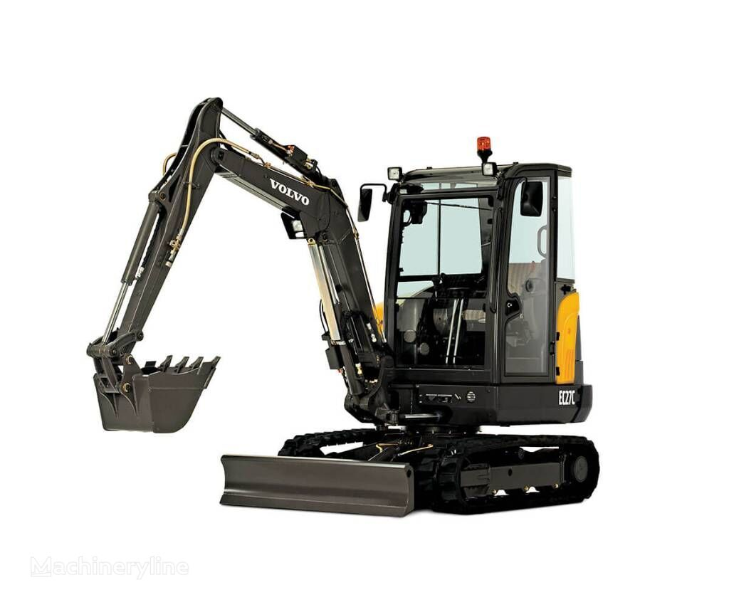 new VOLVO EC 27 D MIETE RENTAL mini excavator