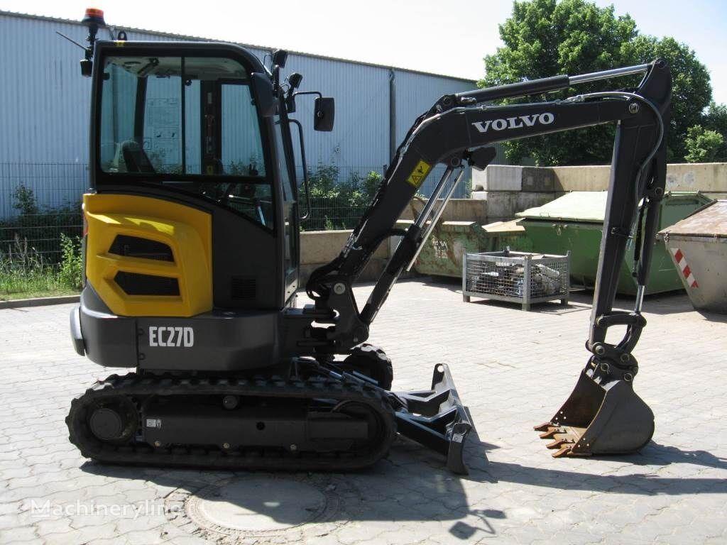 new VOLVO ECR 27D mini excavator