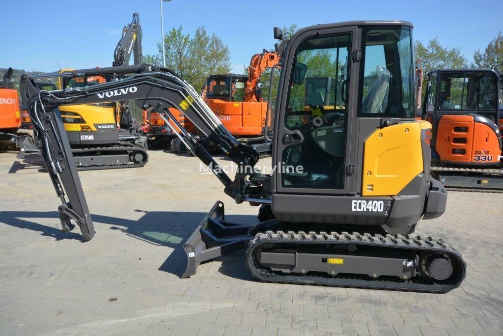 VOLVO ECR 40D mini excavator
