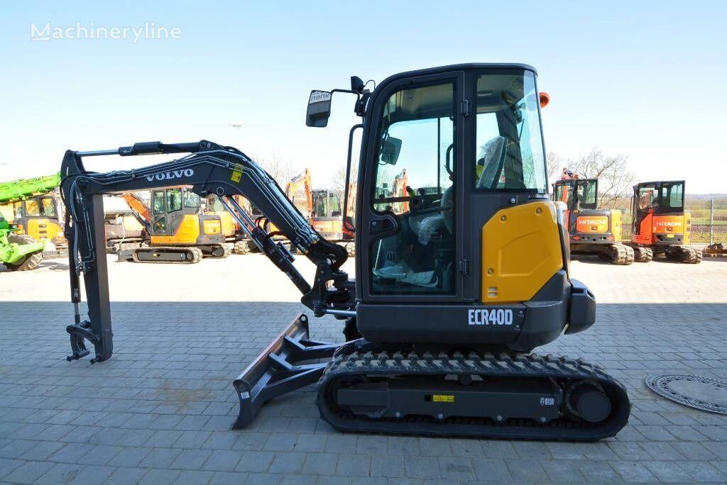 new VOLVO ECR 40D mini excavator