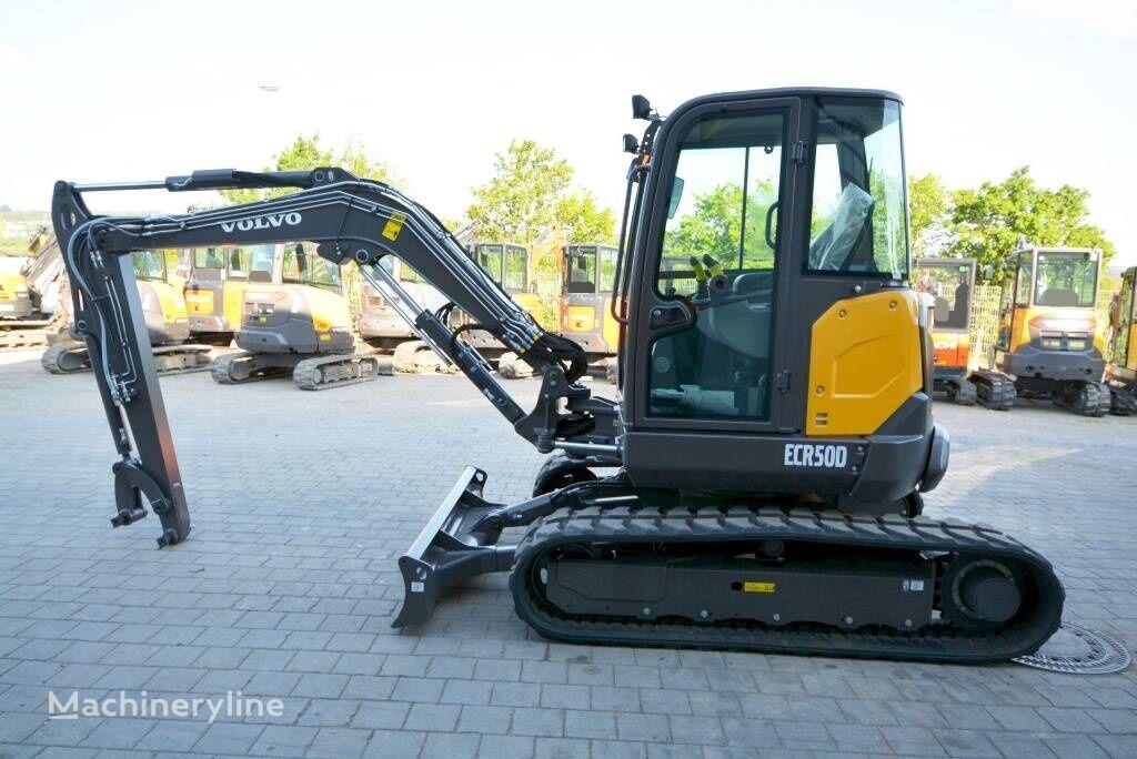 new VOLVO ECR 50D mini excavator