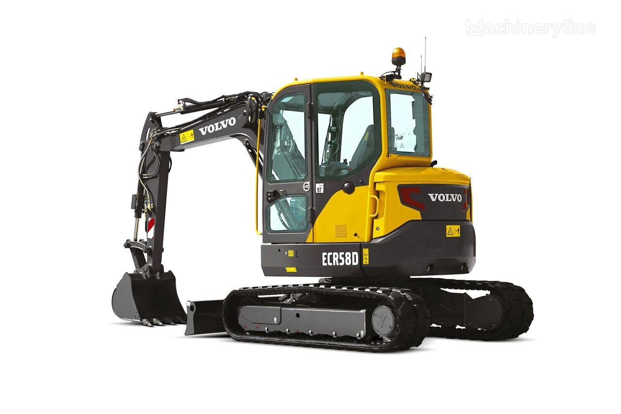 new VOLVO ECR 58D mini excavator