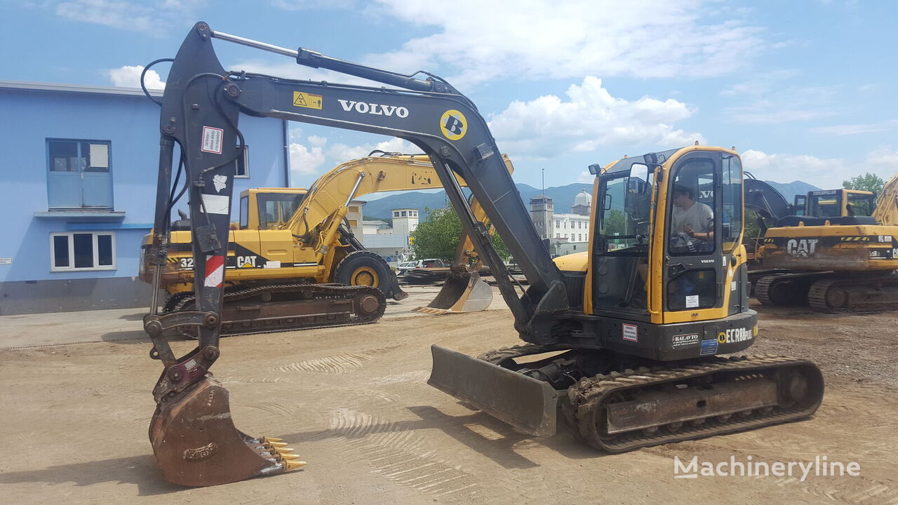 VOLVO ECR88 plus mini excavator