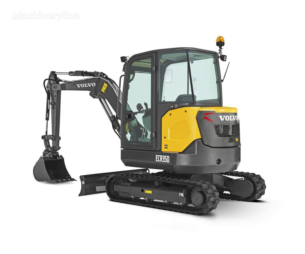 new VOLVO ERC 35D mini excavator