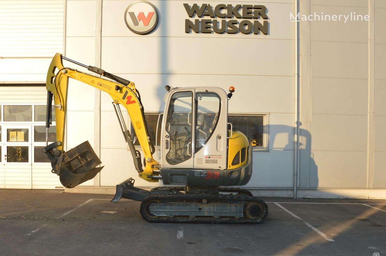 WACKER EZ53 mini excavator