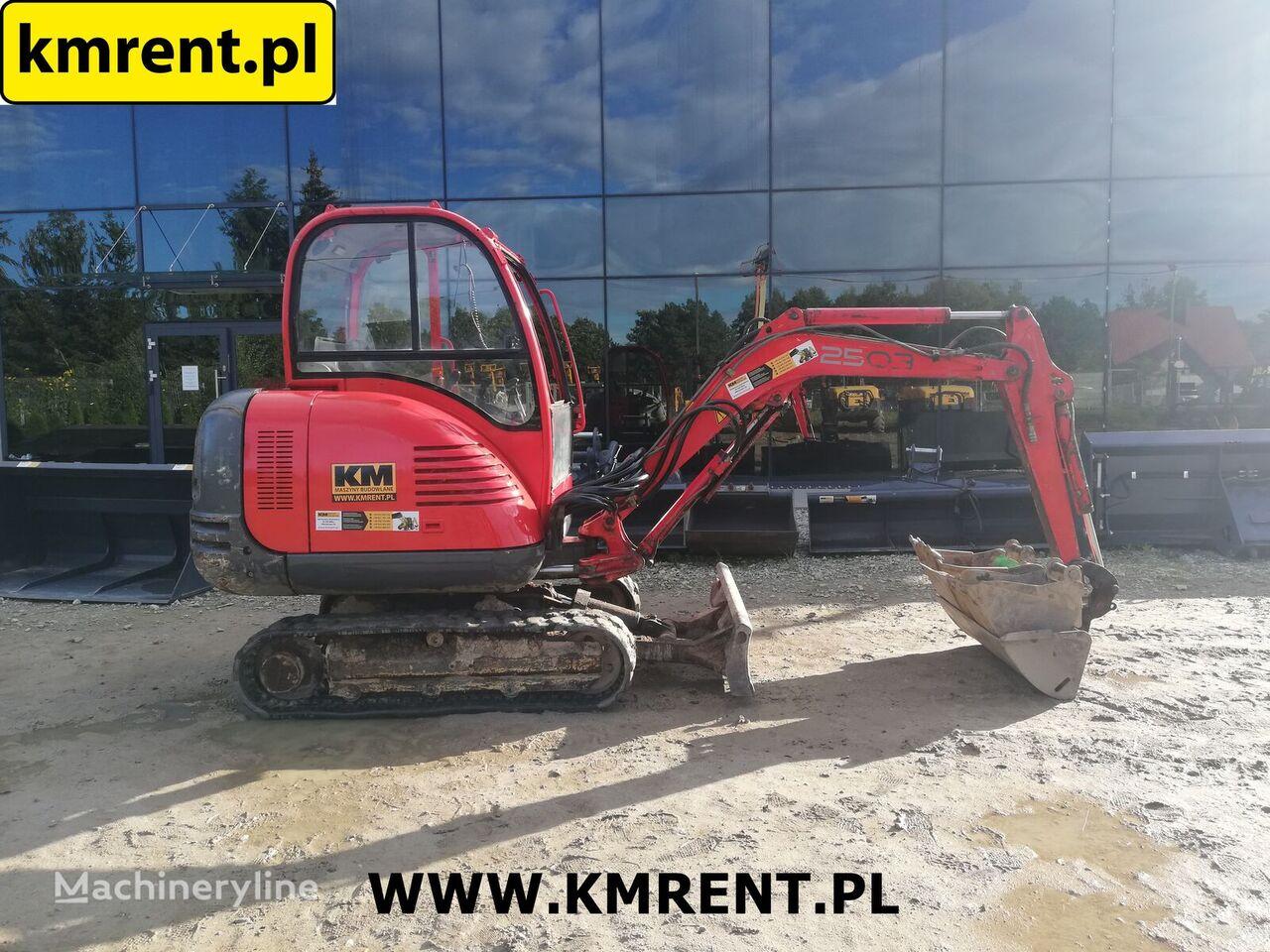Wacker Neuson 2503  mini excavator