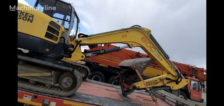 Wacker Neuson 8003 rd mini excavator