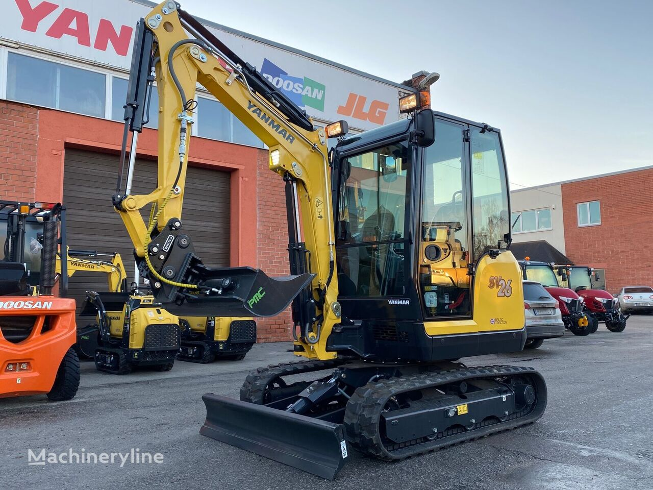 new YANMAR SV 26 mini excavator